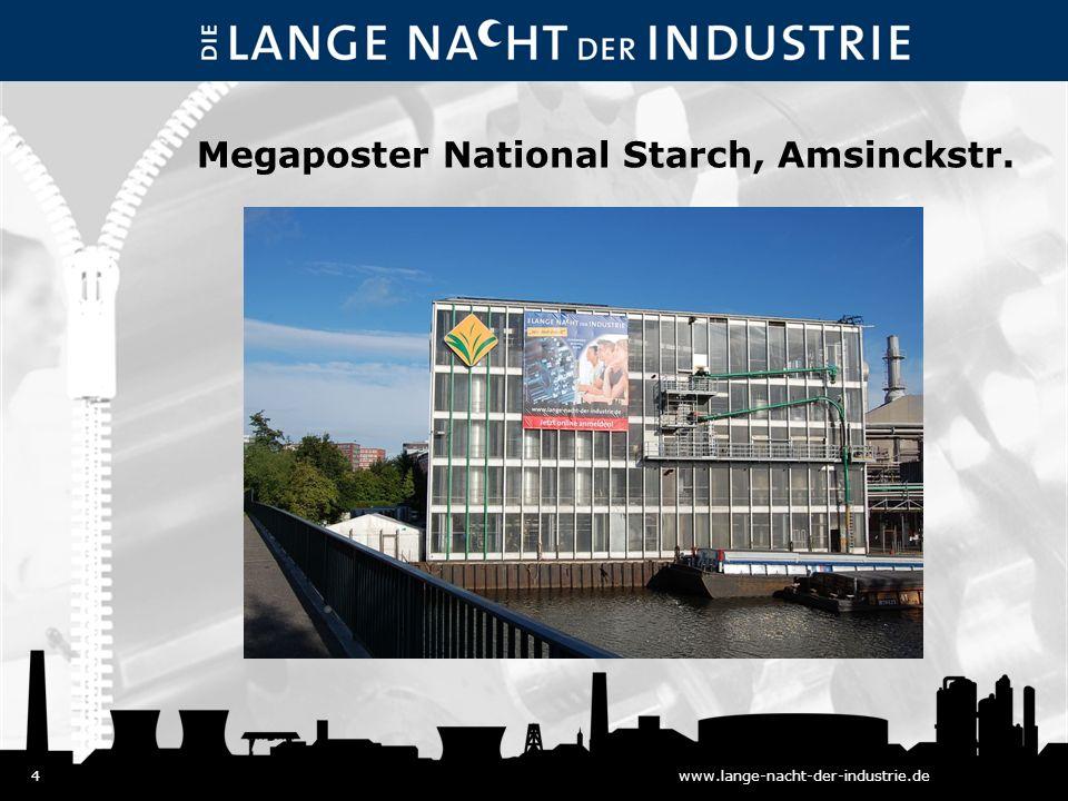 4www.lange-nacht-der-industrie.de Megaposter National Starch, Amsinckstr.