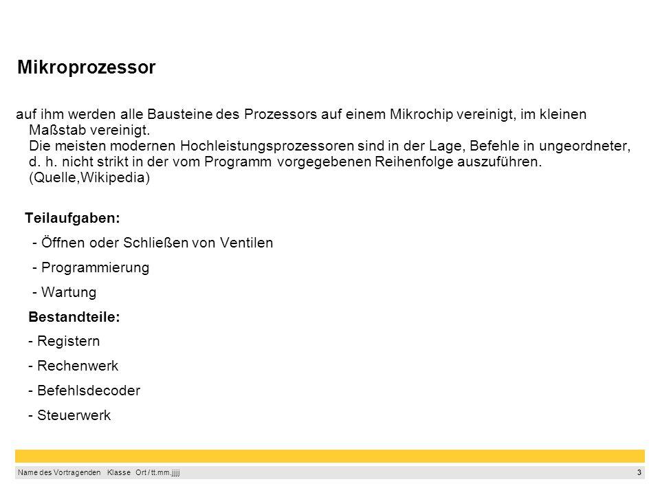 2 Name des Vortragenden Klasse Ort / tt.mm.jjjj 1. 2. 3. 4. 5. 6. 7. 8. 9. Agenda