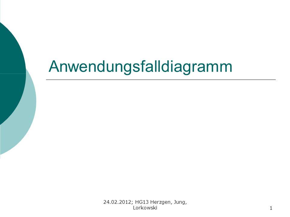 24.02.2012; HG13 Herzgen, Jung, Lorkowski1 Anwendungsfalldiagramm