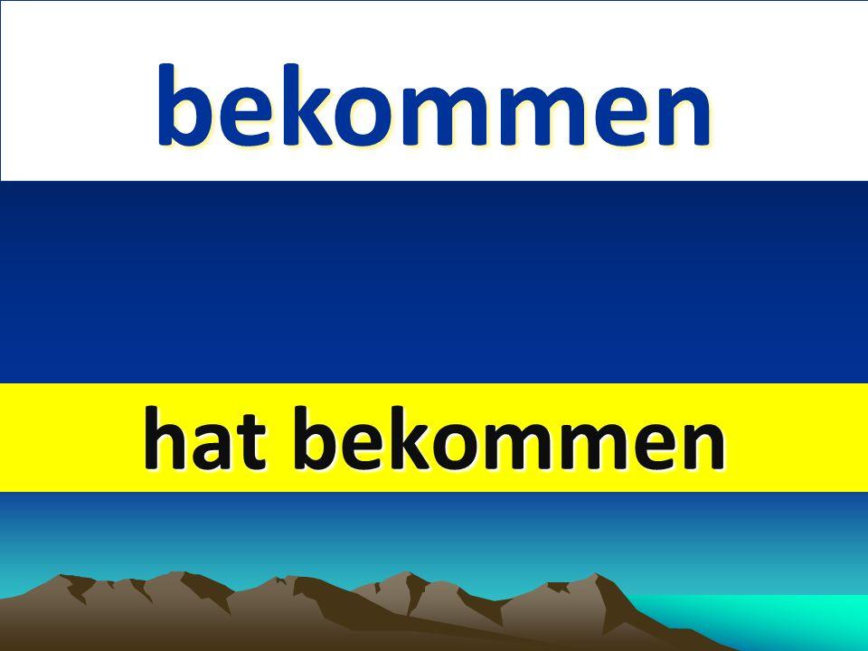 schmecken 1. English 2. past form schmecken 1. English 2. past form