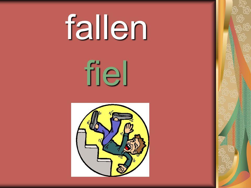 fallen fiel