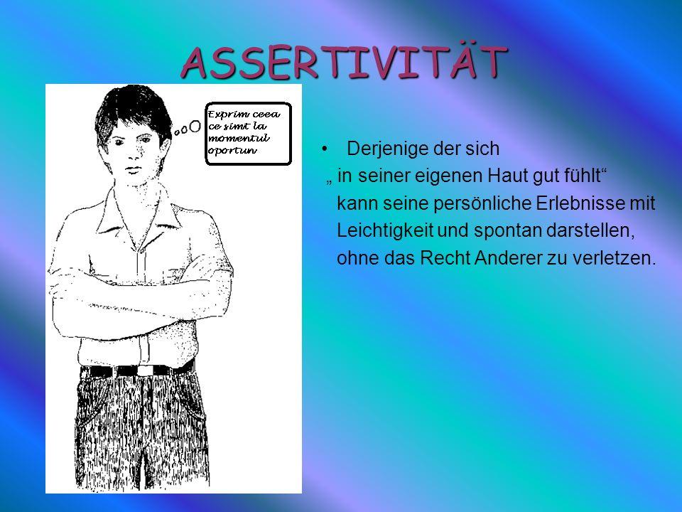 Conceptul de asertivitate Conceptul de asertivitate, relativ nou in societatea romaneasca, este importat de la americani si inseamna, in principiu, a spune nu fara sa te simti vinovat.