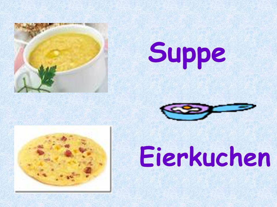 Suppe Eierkuchen