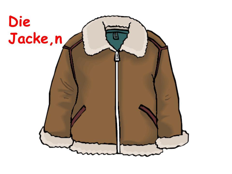 Die Jacke,n
