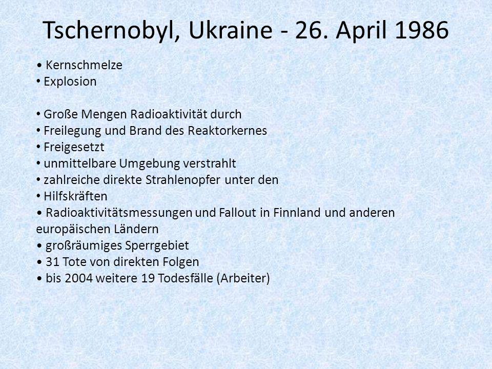 Tschernobyl, Ukraine - 26.