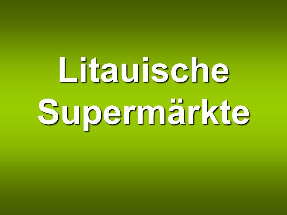 Litauische Supermärkte