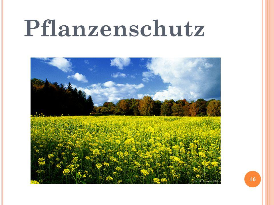 Pflanzenschutz 16