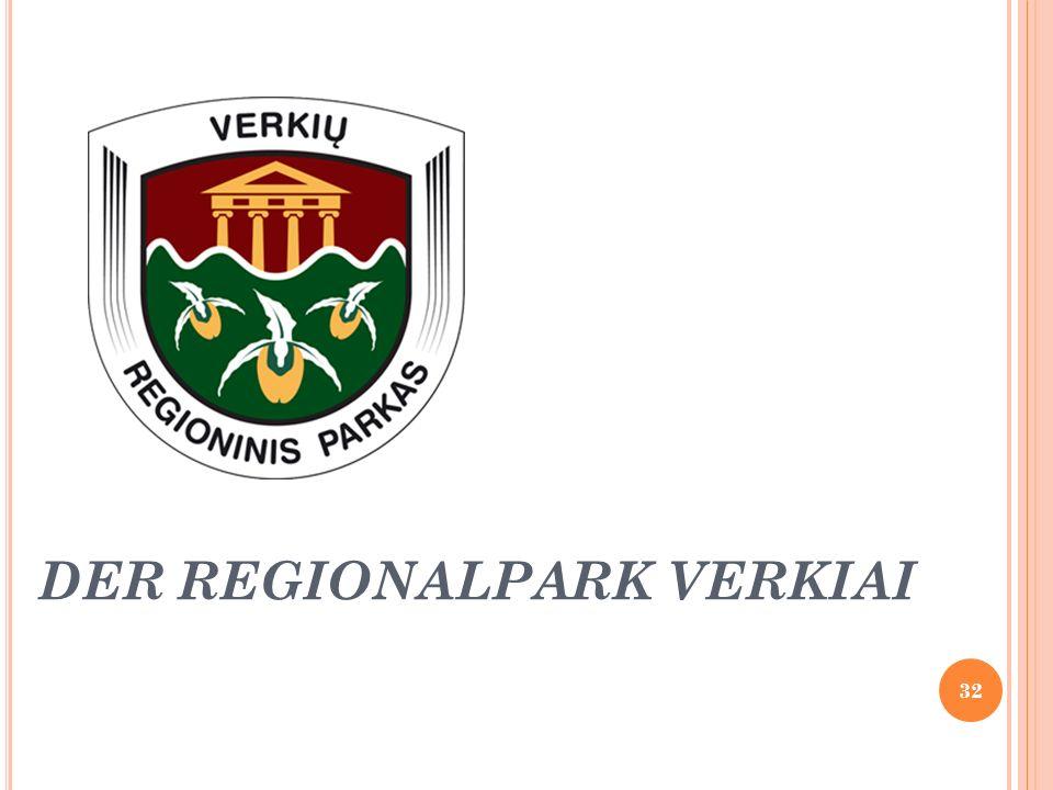 DER REGIONALPARK VERKIAI 32