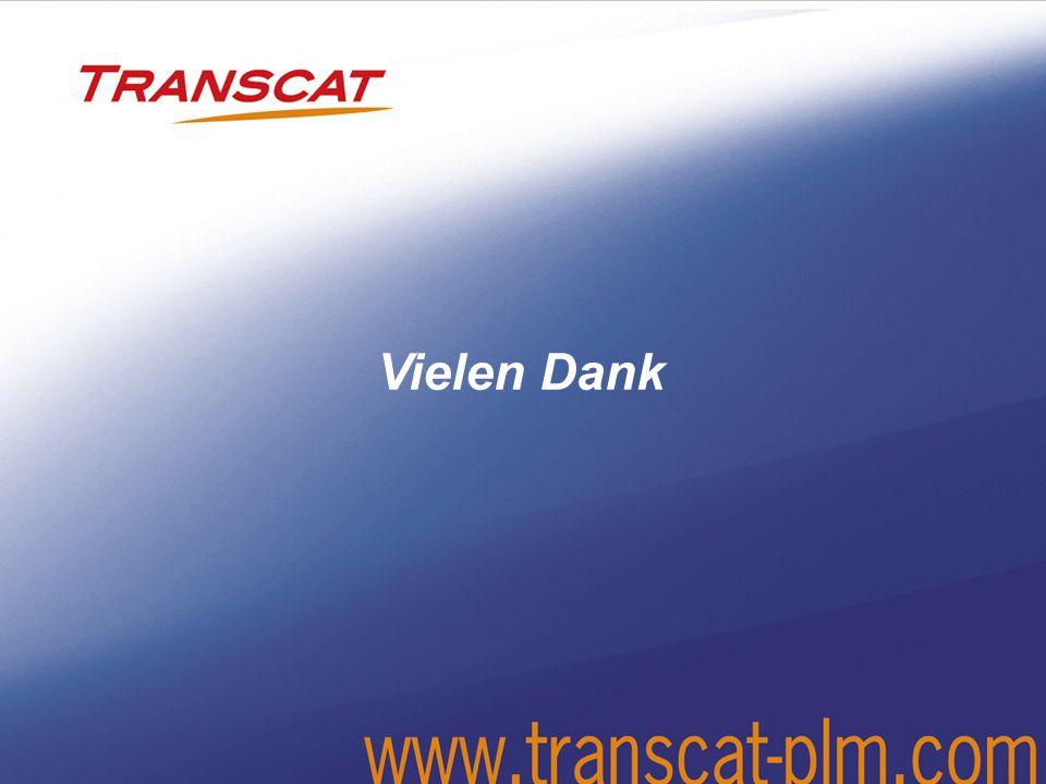 © 2008 Transcat PLM GmbH - MH 02/200919 THANK YOU Vielen Dank