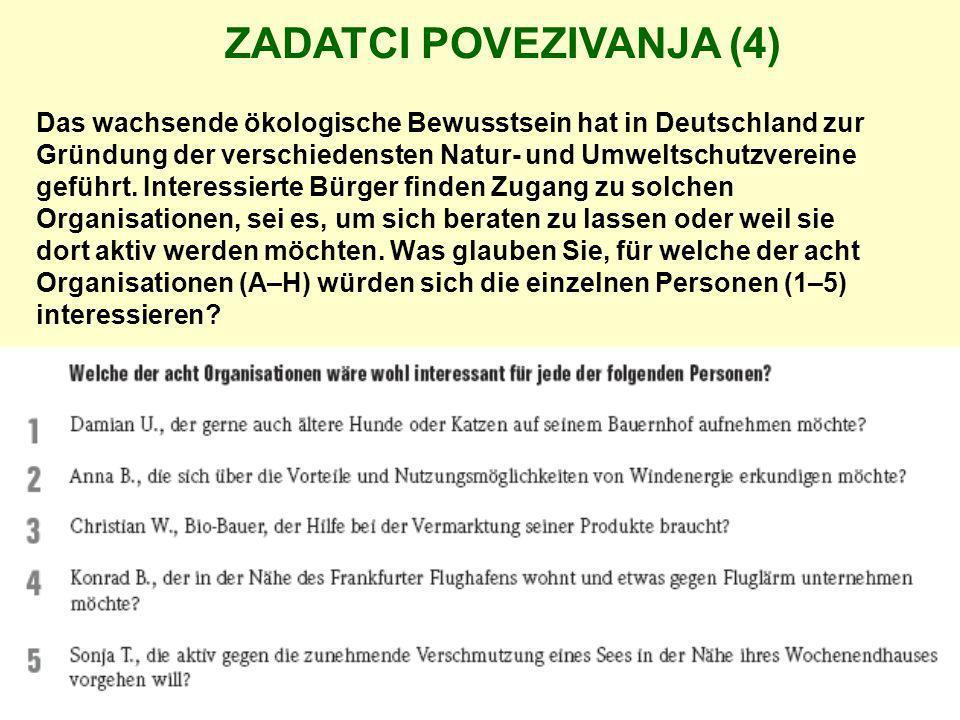 Das wachsende ökologische Bewusstsein hat in Deutschland zur Gründung der verschiedensten Natur- und Umweltschutzvereine geführt. Interessierte Bürger