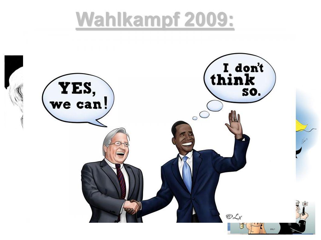 Wahlkampf 2009: Ergebnisse