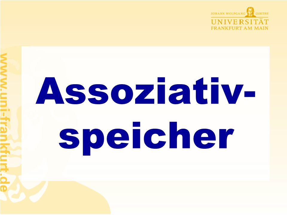 Rüdiger Brause: Adaptive Systeme, Institut für Informatik, WS 2009 - 24 - WIE erhalten wir die richtigen Gewichte, d.h. die richtige Klassifizierung ?