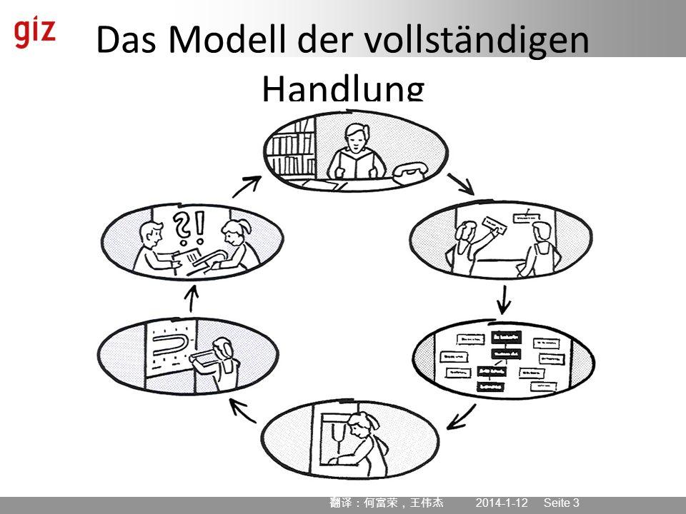 2014-1-12 Seite 3 Das Modell der vollständigen Handlung