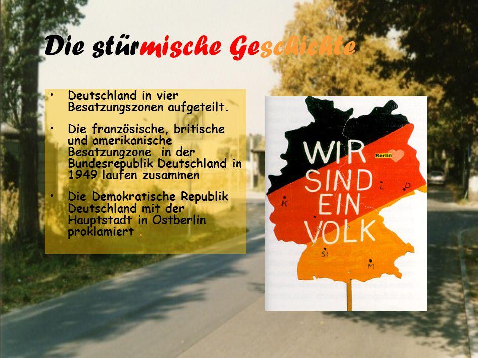 Die massive Emigration Von 1949 bis 1961 wanderten viele von Ost- nach Westberlin ab.