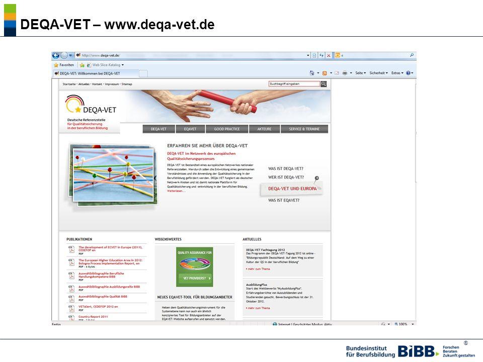 ® DEQA-VET – www.deqa-vet.de
