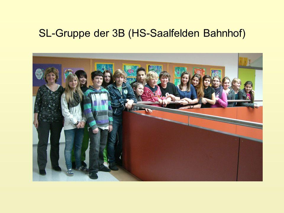 SL-Gruppe der 3B (HS-Saalfelden Bahnhof)