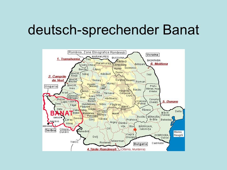 deutsch-sprechender Banat
