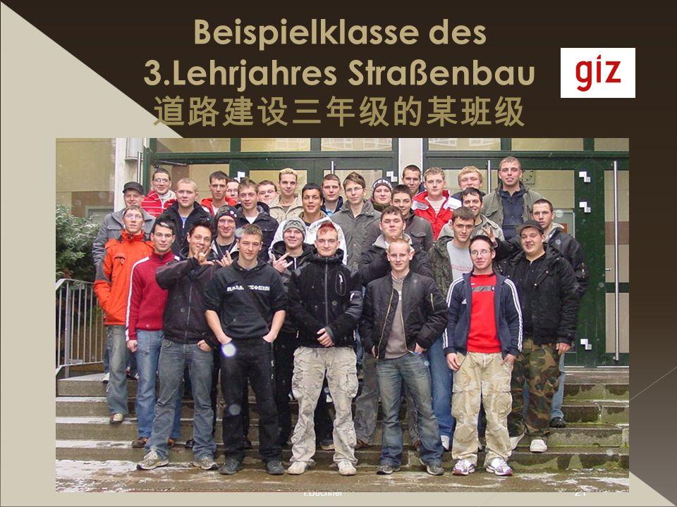 I.Büchner 21 Beispielklasse des 3.Lehrjahres Straßenbau