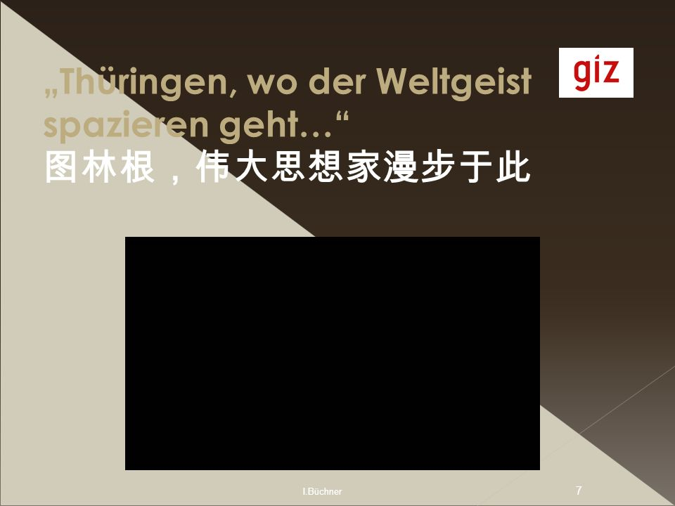 I.Büchner 8 Seminarverlauf Mein Wohn- und Arbeitsort in Weimar/Thüringen Blitzlicht Seminarphase1 1 Reden wir über Unterricht… Seminarphase 2 2 Fallstudien Reflexion/Blitzlicht