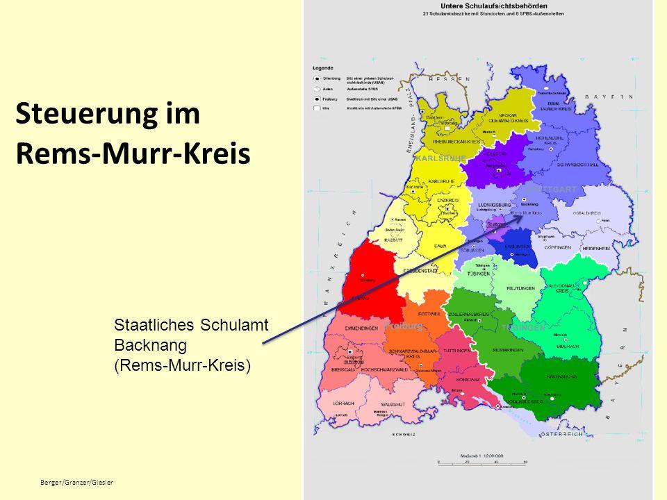 Staatliches Schulamt Backnang: Eckdaten ca.150 Schulen ca.