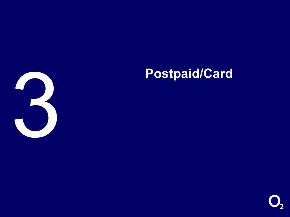 3 Postpaid/Card