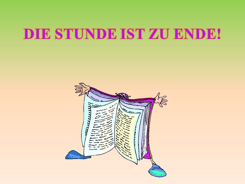 Мы язык немецкий учим, Ведь для нас он самый лучший! И, когда его освоим, Мир далеких стран откроем. Алфавит мы изучили, Читать книжки научились, Путе
