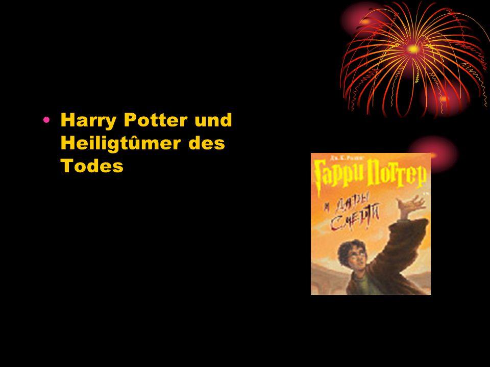 Harry Potter und Heiligtûmer des Todes