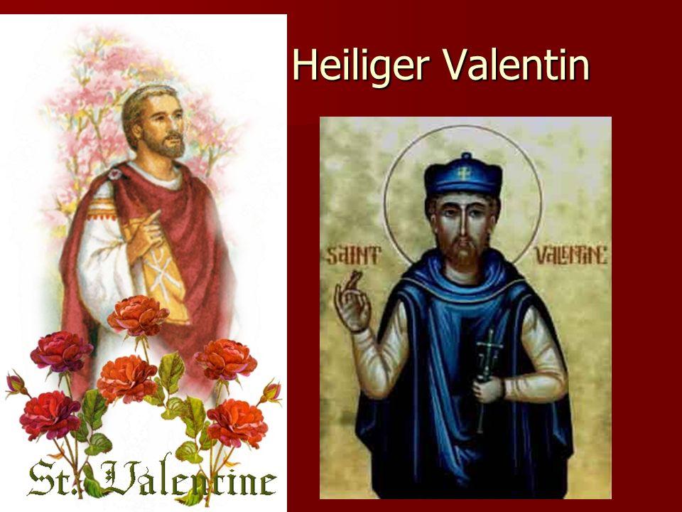 Symbole des Valentinstages