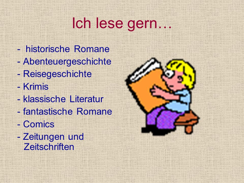 ZITATE Liebt das Buch,die Quelle des Wissens Das Lesen ist die beste Art zu lernen Zuviel Lesen ist ebenso schädlich,wie zuwenig Lesen-man versumpft geistig Tu was Sinnvolles-lies etwas Sag mir,was du liest und ich sage dir,wer du bist Ein Buch ist stärker als zehn Pferde A.S.Puschkin Sprichwort A.M.Gorki M.A.Nexö