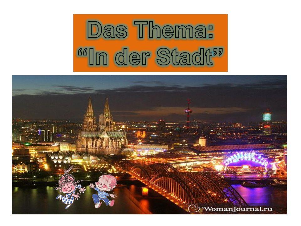 Цель урока: активизация и обобщение знаний, умений и навыков по темам Eine alte deutsche Stadt; Wer wohnt hier.