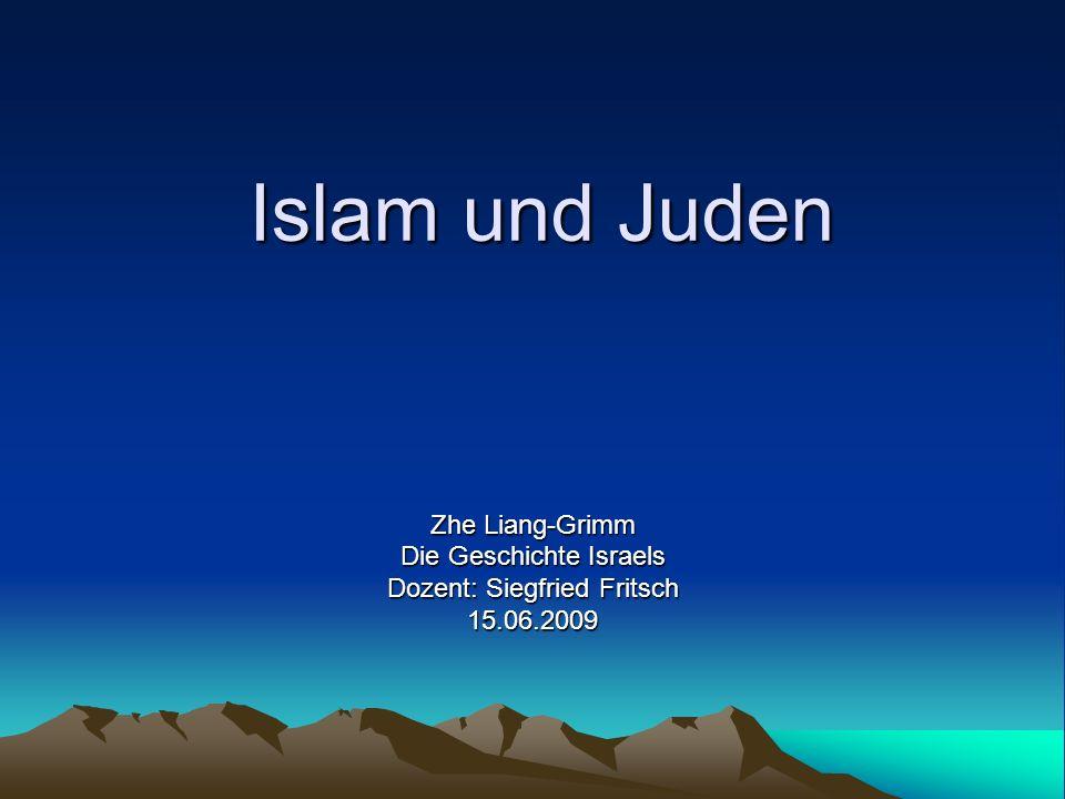 C.Die Entstehung des Islams Er nannte seinen Gott Allah, und sich seinen Prophet.