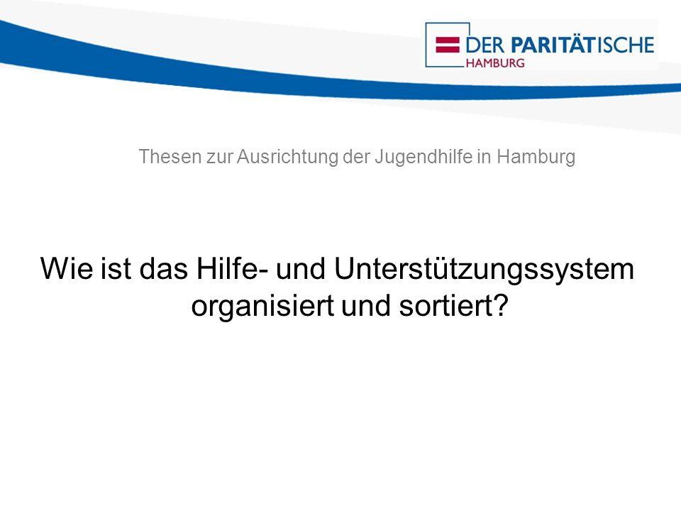 Thesen zur Ausrichtung der Jugendhilfe in Hamburg Wie ist das Hilfe- und Unterstützungssystem organisiert und sortiert?