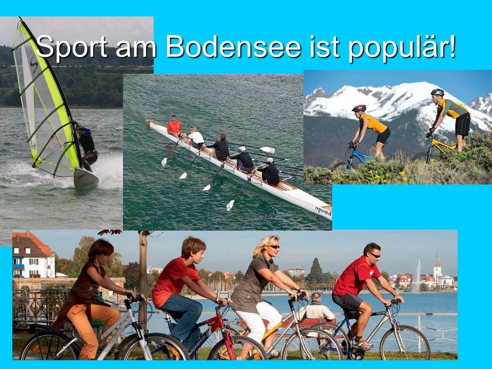 Sport am Bodensee ist populär!