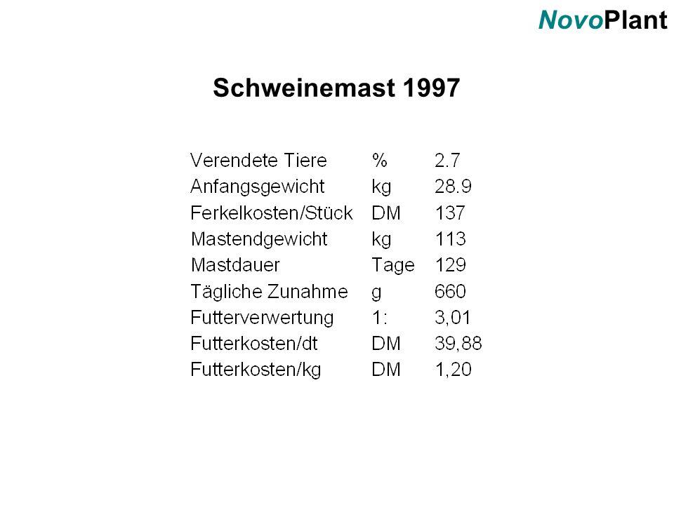 NovoPlant Schweinemast 1997