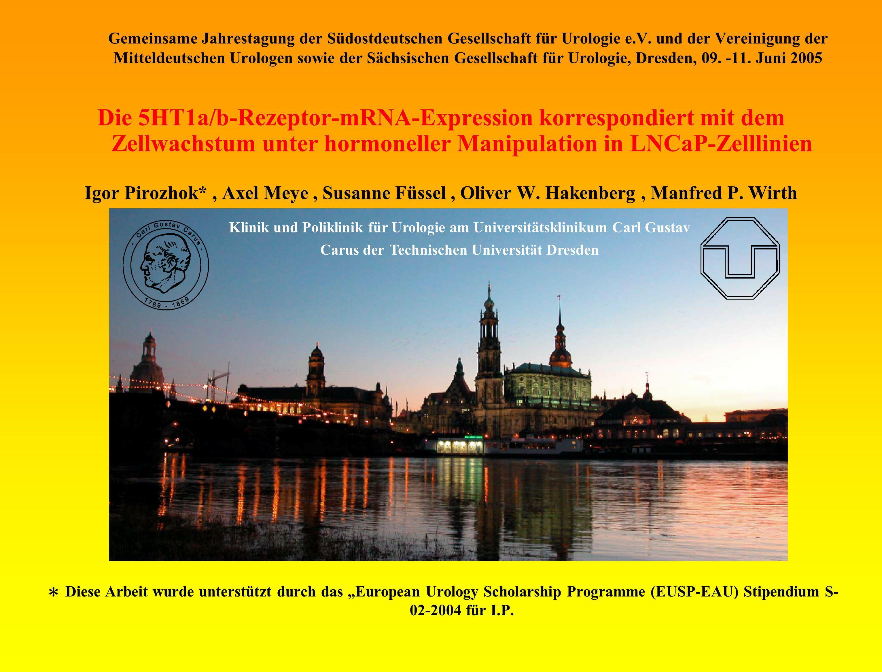 Gemeinsame Jahrestagung der Südostdeutschen Gesellschaft für Urologie e.V. und der Vereinigung der Mitteldeutschen Urologen sowie der Sächsischen Gese