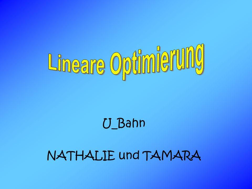 U_Bahn NATHALIE und TAMARA