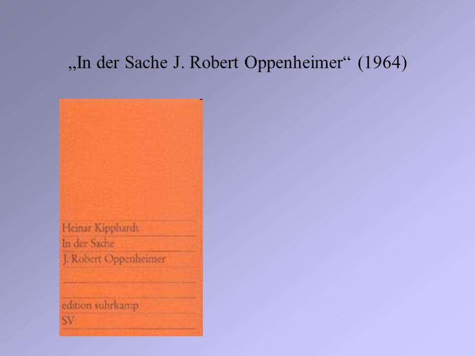 In der Sache J. Robert Oppenheimer (1964)