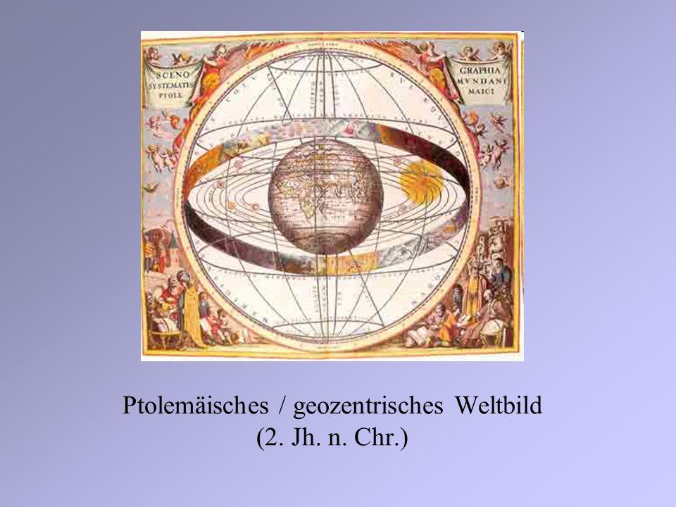Ptolemäisches / geozentrisches Weltbild (2. Jh. n. Chr.)