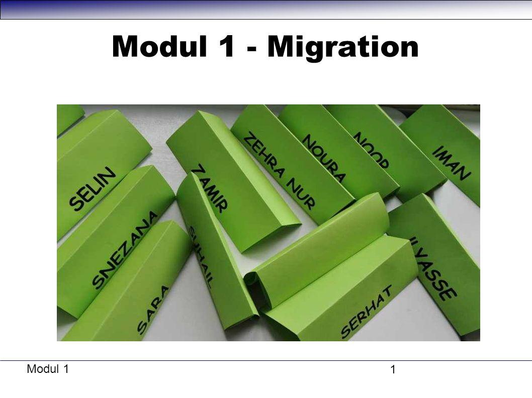 Modul 1 1 Modul 1 - Migration