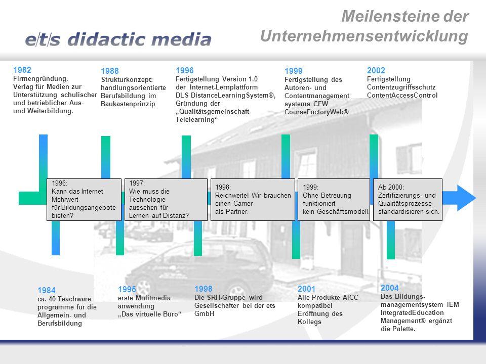 Status Sommer 2005: Spezifisches Ingenieurwissen ist nur in Deutschland im Werk vorhanden.