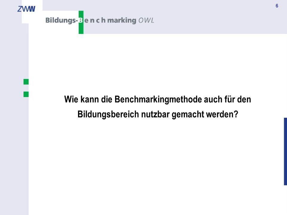 7 Bildungs-Benchmarking konkret Best Practices für Ostwestfalen-Lippe