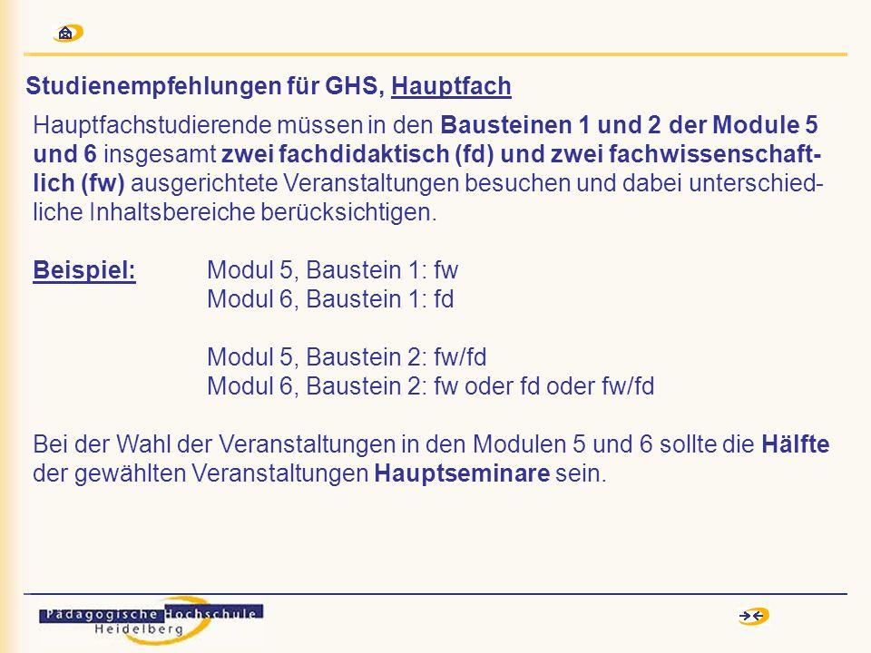 Studienempfehlungen für GHS, Hauptfach Mündliche Examensprüfung Deutsch im Hauptfach: Möglichkeit A: SpracheLiteratur 7,5 Min.