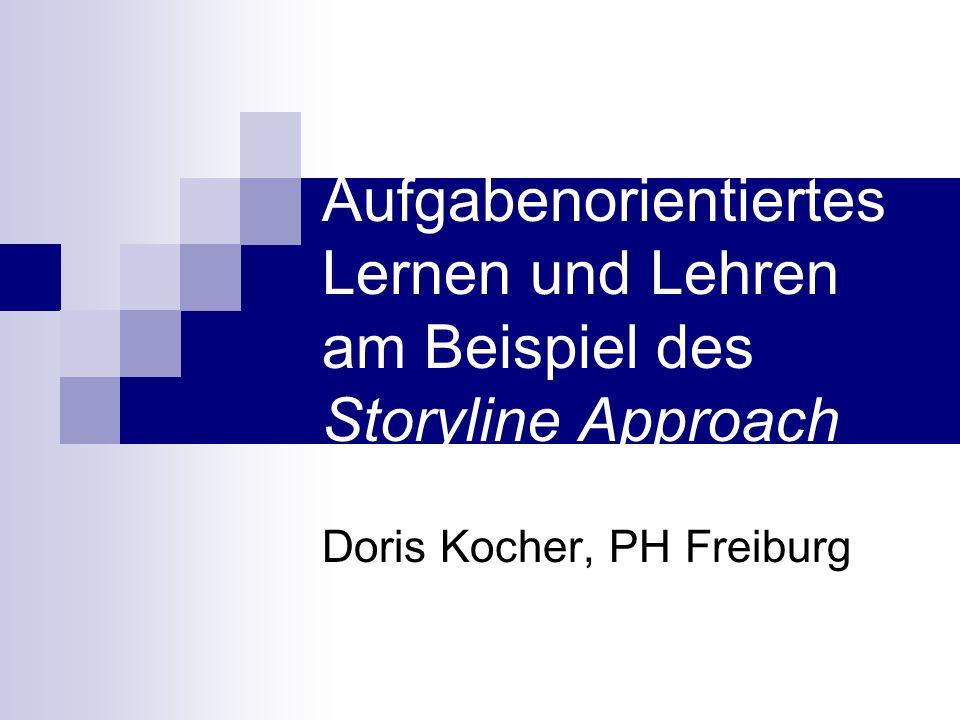 Aufgabenorientiertes Lernen und Lehren am Beispiel des Storyline Approach Doris Kocher, PH Freiburg