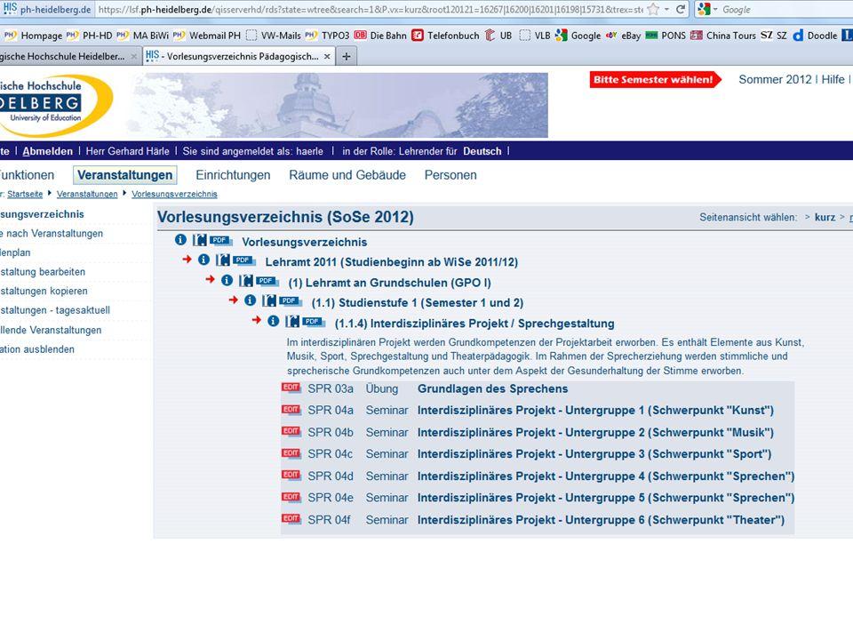 Agenda 2.Teil – Orientierungshilfen Orientierung im Netz: www.ph-heidelberg.de 19.