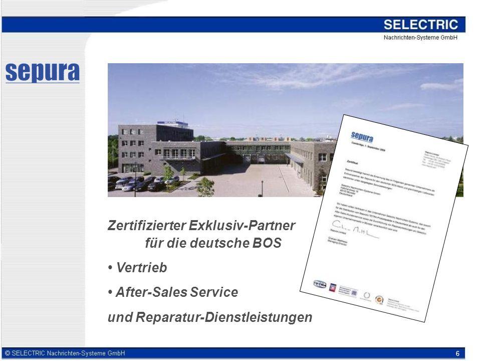 6 Zertifizierter Exklusiv-Partner für die deutsche BOS Vertrieb After-Sales Service und Reparatur-Dienstleistungen