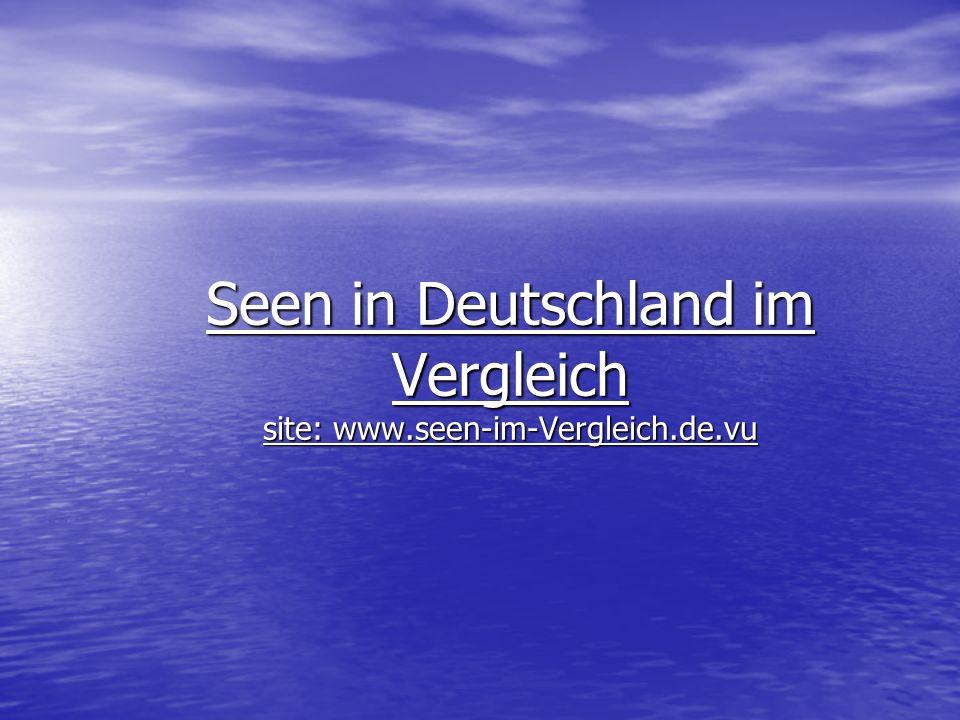 Fazit Fazit: Es gibt in Deutschland kaum nicht eutrophierte Seen, bis auf ein paar wenige Ausnahmen wie der Königssee.