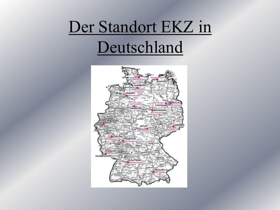 Der Standort EKZ in Deutschland