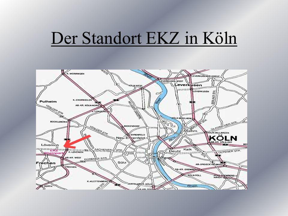 Der Standort EKZ in Köln