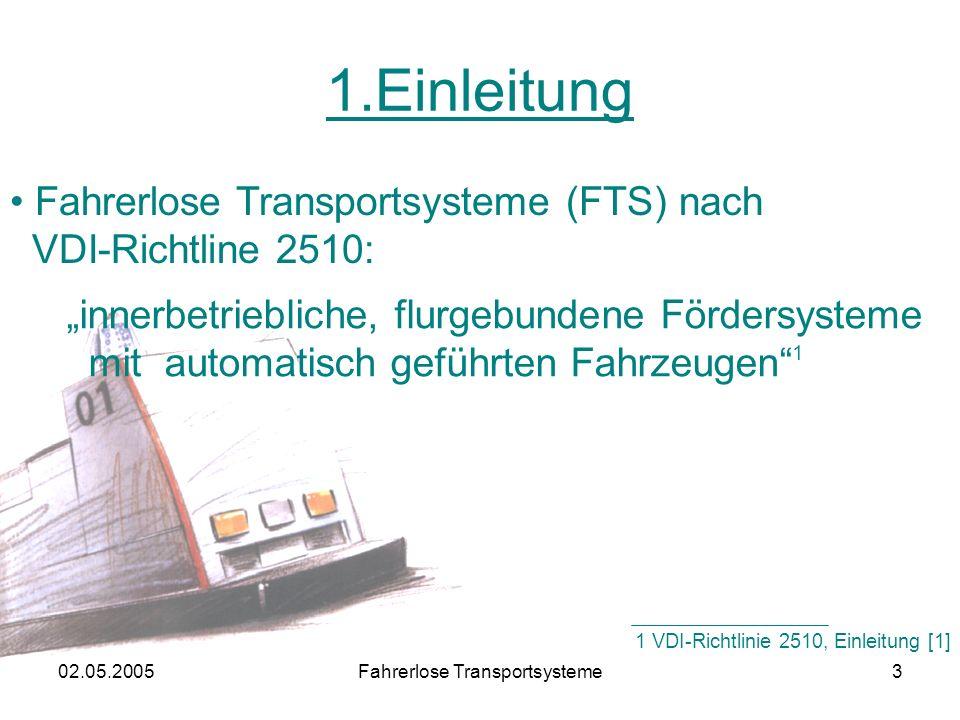 02.05.2005Fahrerlose Transportsysteme34 6.Wichtige Hersteller