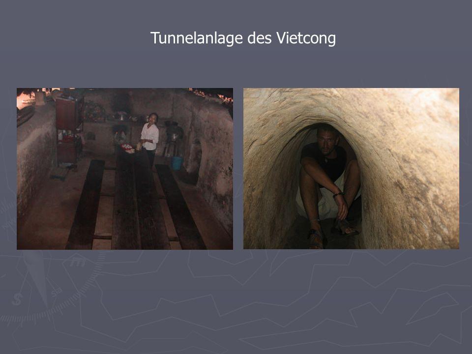 Tunnelanlage des Vietcong